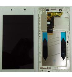 SONY XPERIA L1 G3311 G3312 G3313 PANTALLA LCD + TACTIL BLANCO + MARCO ORIGINAL