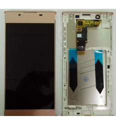 SONY XPERIA L1 G3311 G3312 G3313 PANTALLA LCD + TACTIL ROSA + MARCO ORIGINAL