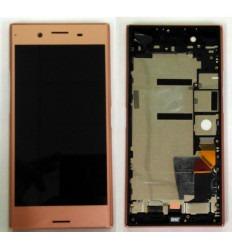 SONY XPERIA XZ PREMIUM G8142 PANTALLA LCD + TACTIL ROSA + MARCO ORIGINAL