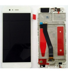 HUAWEI ASCEND P10 PANTALLA LCD + TACTIL BLANCO + MARCO ORIGINAL