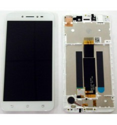 Asus Zenfone Live ZB501KL original display lcd with white touch screen with frame