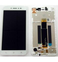 ASUS ZENFONE LIVE ZB501KL PANTALLA LCD + TACTIL BLANCO + MARCO ORIGINAL
