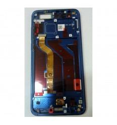 HUAWEI HONOR 9 STF-L09 PANTALLA LCD + TACTIL AZUL + MARCO ORIGINAL
