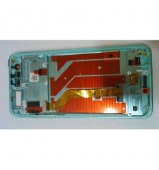 HUAWEI HONOR 9 STF-L09 PANTALLA LCD + TACTIL BLANCO + MARCO ORIGINAL