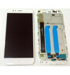 XIAOMI MI 5X MI A1 PANTALLA LCD + TACTIL BLANCO + MARCO ORIGINAL