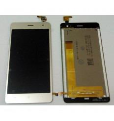 WIKO JERRY 2 PANTALLA LCD + TACTIL DORADA ORIGINAL