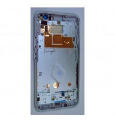 HTC U11 CARCASA CENTRAL O MARCO BLANCO ORIGINAL