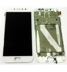 ASUS ZENFONE 4 SELFIE PRO ZD552KL PANTALLA LCD + TACTIL BLANCO + MARCO ORIGINAL