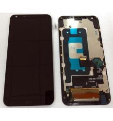 LG Q6 PLUS PANTALLA LCD + TACTIL NEGRO + MARCO ORIGINAL