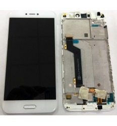 XIAOMI MI 5C PANTALLA LCD + TACTIL BLANCO + MARCO ORIGINAL