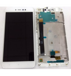 Xiaomi Redmi Note 5A original display lcd with white touch screen with frame