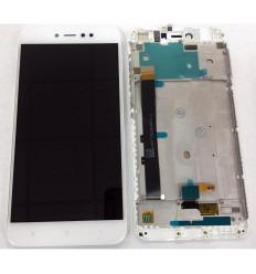 XIAOMI REDMI NOTE 5A PANTALLA LCD + TACTIL BLANCO + MARCO ORIGINAL