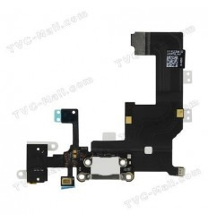 iPhone 5 cable flex conexión carga y accesorios blanco origi