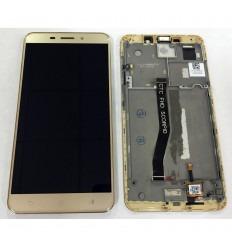 ASUS ZENFONE 3 LASER ZC551KL PANTALLA LCD + TACTIL DORADO + MARCO ORIGINAL