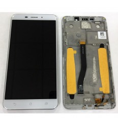 ASUS ZENFONE 3 LASER ZC551KL PANTALLA LCD + TACTIL BLANCO + MARCO ORIGINAL
