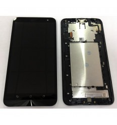 ASUS ZENFONE 2 LASER 6.0 ZE601KL Z011D PANTALLA LCD + TÁCTIL NEGRO + MARCO ORIGINAL