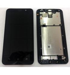 ASUS ZENFONE 2 ZE550ML1280 PANTALLA LCD + TÁCTIL NEGRO + MARCO ORIGINAL