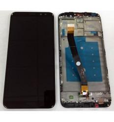 HUAWEI MATE 10 LITE PANTALLA LCD + TACTIL NEGRO + MARCO ORIGINAL