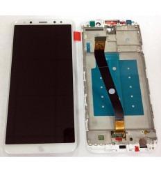 HUAWEI MATE 10 LITE PANTALLA LCD + TACTIL BLANCO + MARCO ORIGINAL