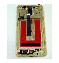 HUAWEI ASCEND MATE 10 PANTALLA LCD + TACTIL GRIS + MARCO ORIGINAL