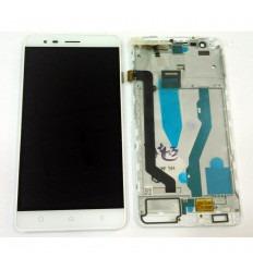 LENOVO K5 NOTE PANTALLA LCD + TACTIL BLANCO + MARCO ORIGINAL