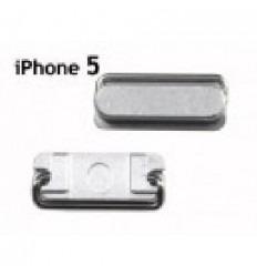 iPhone 5 botón on off original color plata