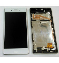 SONY XPERIA X (2016) F5121 F5122 PANTALLA LCD + TÁCTIL BLANCO + MARCO ORIGINAL