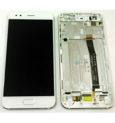 Asus Zenfone 4 ZE554KL original display lcd with white touch screen with frame