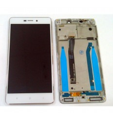 Xiaomi Redmi 3 3s 3x original display lcd with white touch screen with frame