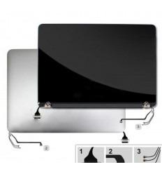 MACBOOK PRO A1502 2013-2014 PANTALLA LCD + CARCASA TRASERA O TAPA PLATA ORIGINAL REMANUFACTURED