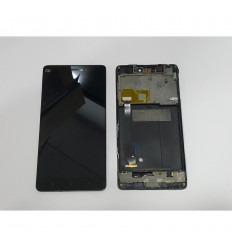 XIAOMI MI 4C MI4C PANTALLA LCD + TACTIL NEGRO + MARCO ORIGINAL