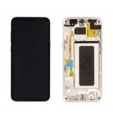 SAMSUNG GH97-20470F GALAXY S8 PLUS G955F PANTALLA LCD + TÁCTIL DORADO ORIGINAL