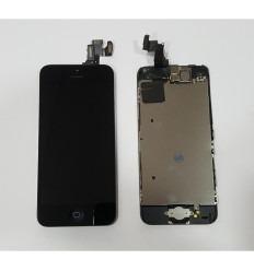 IPHONE 5C LCD ORIGINAL + TACTIL NEGRO + HOME + CAMARA +SENSOR