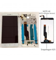 Xiaomi Redmi Note 4X Note 4 Global Version pantalla lcd + tactil blanco + marco original