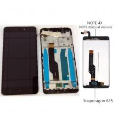 XIAOMI EDMI NOTE 4X NOTE 4X NOTE 4 GLOBAL VERSION PANTALLA LCD + TACTIL NEGRO + MARCO ORIGINAL