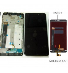 Xiaomi Redmi Note 4 pantalla lcd + tactil negro + marco original Version 1 Helio