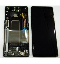 SAMSUNG GH97-21065A N950 GALAXY NOTE 8 PANTALLA LCD + TÁCTIL NEGRO + MARCO NEGRO ORIGINAL