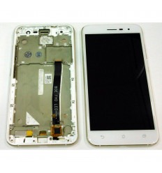 ASUS ZENFONE 3 ZE552KL PANTALLA LCD + TACTIL BLANCO + MARCO ORIGINAL