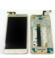 XIAOMI REDMI NOTE 3 PRO (VERSION EUROPEA) PANTALLA LCD + TACTIL DORADO + MARCO ORIGINAL