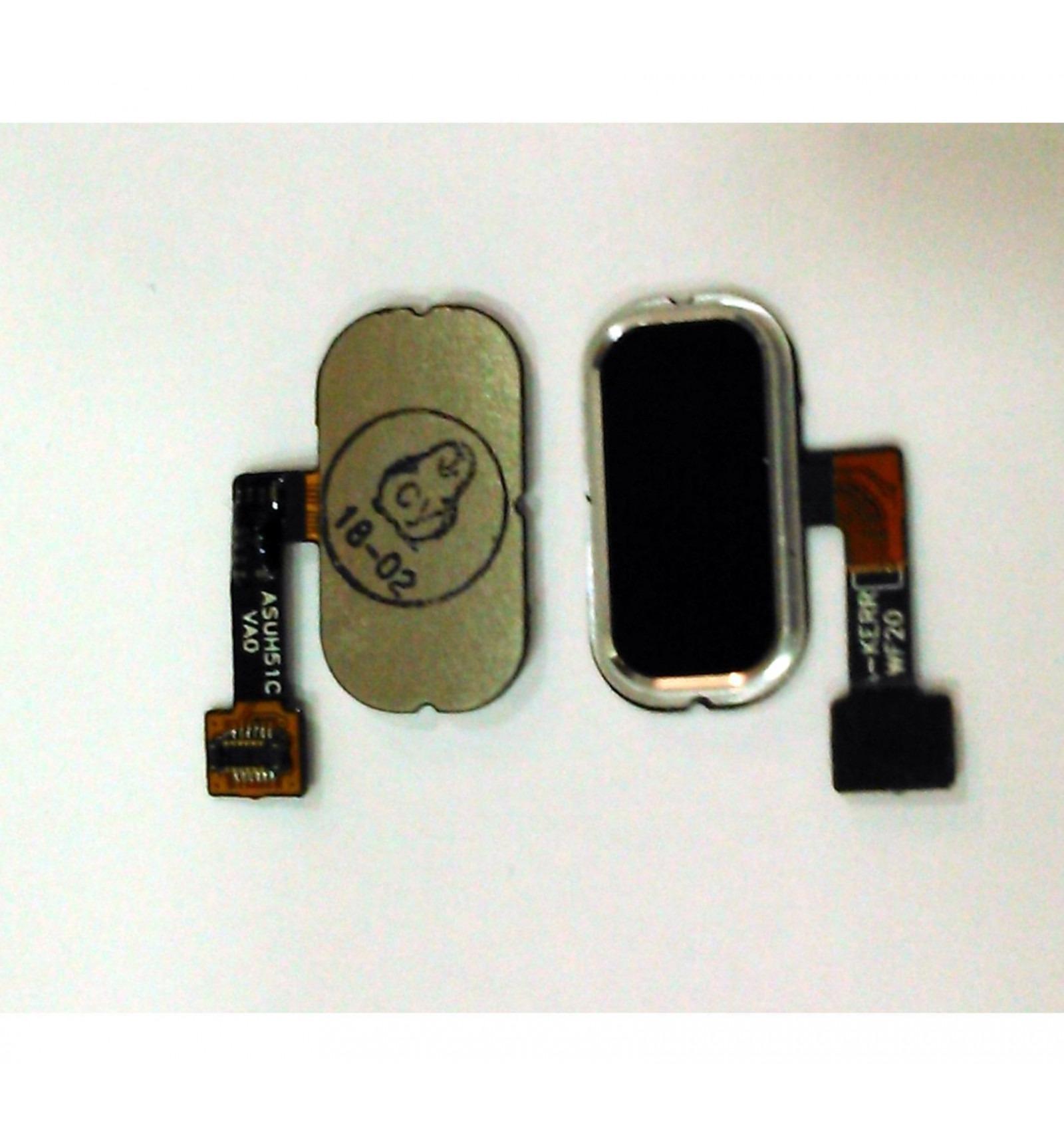 Asus Zenfone 3 Ze552kl Ze520kl Original Black Home Button Flex Boton Negro