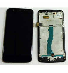 Motorola Moto E4 XT1762 original display lcd with black touch screen with frame