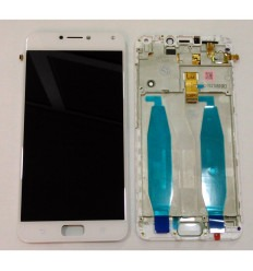 ASUS ZENFONE 4 MAX ZC554KL PANTALLA LCD + TACTIL BLANCO + MARCO ORIGINAL
