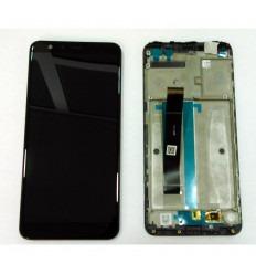 ASUS ZENFONE MAX PLUS M1 ZB570TL PANTALLA LCD + TACTIL NEGRO + MARCO ORIGINAL