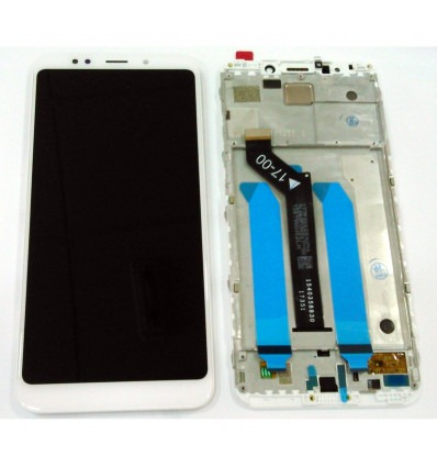Xiaomi Redmi 5 Plus version China Redmi Note 5 versión Global original  display lcd with white touch screen with fra