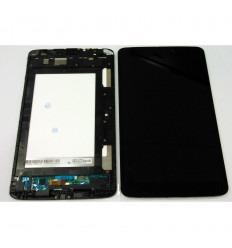 LG G Tablet Pad 8.3 V500 Wifi original display lcd with black touch screen with frame