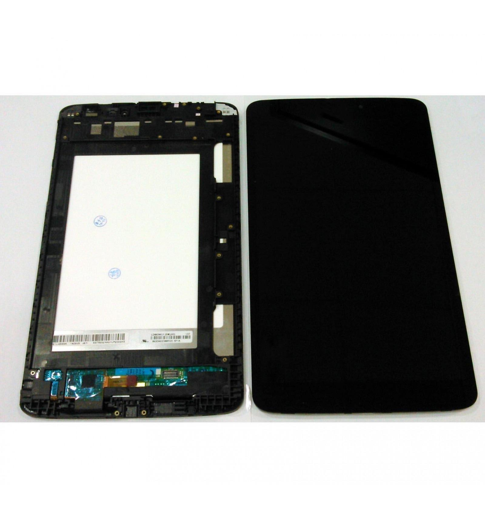 LG G Tablet Pad 8.3 V500 Wifi pantalla lcd + tactil negro + marco ...