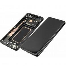 SAMSUNG GH97-21691A GALAXY S9 PLUS SM-G965F PANTALLA LCD + TÁCTIL NEGRO + MARCO NEGRO ORIGINAL