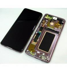 SAMSUNG GH97-21691B GALAXY S9 PLUS SM-G965F PANTALLA LCD + TÁCTIL NEGRO + MARCO VIOLETA ORIGINAL
