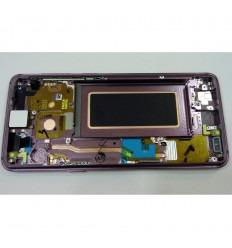 SAMSUNG GH97-21696B GALAXY S9 SM-G960F PANTALLA LCD + TÁCTIL NEGRO + MARCO VIOLETA ORIGINAL