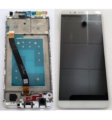 HUAWEI HONOR 7X PANTALLA LCD + TACTIL BLANCO + MARCO ORIGINAL